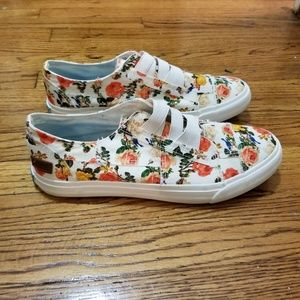Blowfish Malibu Floral Canvas Shoes